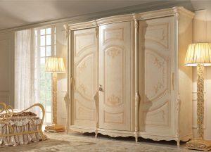 model lemari pakaian minimalis mewah kayu solid
