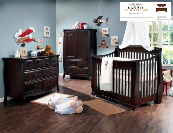box bayi kayu jati