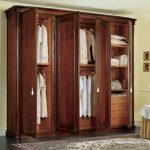 lemari jati 4 pintu klasik   lemari pakaian