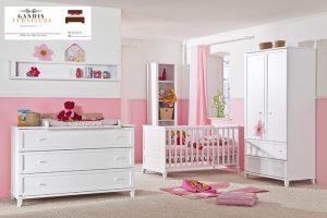 tempat tidur bayi minimalis dari kayu