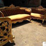 set kursi ruang tamu mewah ukiran klasik jepara