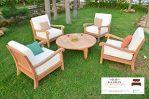Kursi Outdoor Minimalis Dengan Dudukan Sofa Empuk