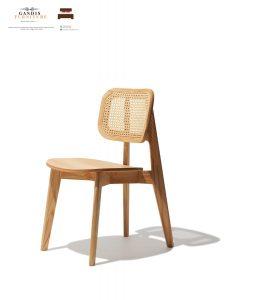 meja kursi cafe rotan alami model baru