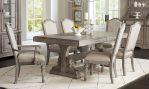 Set meja makan mewah 6 kursi kayu solid jati