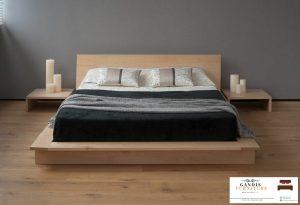 tempat tidur lantai minimalis ala jepang