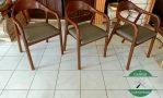 kursi cafe kayu jati modern minimalis jepara