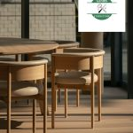 Kursi Cafe Jati Minimalis