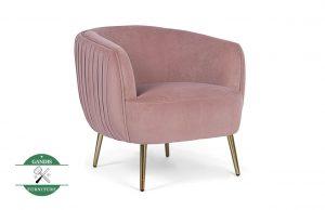 sofa single dengan bantal dudukan tebal nyaman sekali