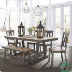 Meja makan jati mewah minimalis