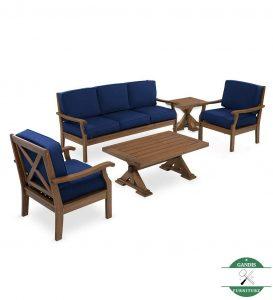 kursi taman kayu jati minimalis terbaru