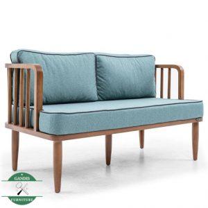 Kursi cafe kayu minimalis panjang