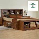 Jual Tempat Tidur Laci Minimalis Kayu Jati