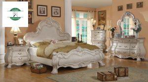 Jual Tempat Tidur Clasic Warna Putih
