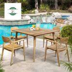Kursi Cafe Outdoor Model Minimalis