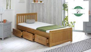 Jual Tempat Tidur Laci Minimalis
