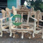 Kursi tamu romawi kayu jati jepara