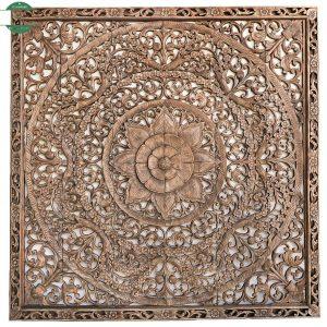 hiasan dinding kayu jati relief jepara