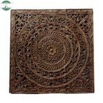 hiasan dinding relief kayu jati jepara
