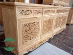 Bufet Palembang kayu jati asli jepara