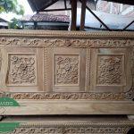 bufet ukir model biola kayu jati jepara