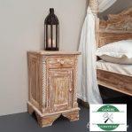Nakas tempat tidur kayu jati rustic   Side Table   Night stand