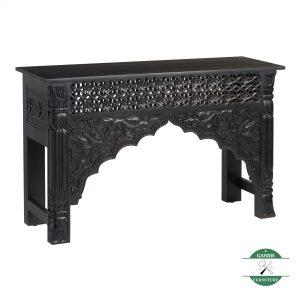 ukuran Meja konsul kayu jati ukiran rustic klasik