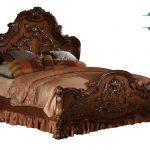 Tempat tidur kayu jepara model mewah