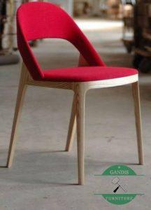 Kursi cafe kayu sungkai modern