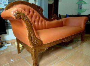 Kursi Sofa tamu minimalis kayu jati jepara