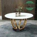 Meja Ruang Tamu Marmer Mewah Stainless