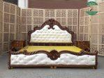 Tempat tidur mewah Jati Jepara Klasik ukir