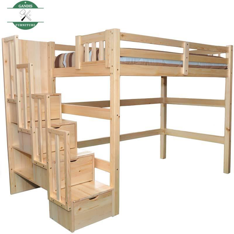 Tempat Tidur Tingkat Tangga Laci Minimalis