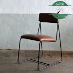 Kursi Cafe Besi Industrial Modern