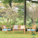 Kursi Taman Kayu Minimalis Jepara