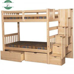 Tempat Tidur Tingkat Anak Minimalis Jati Jepara
