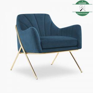 Kursi Santai Tamu Industrial Modern | Kursi Sofa