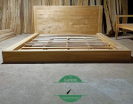 Tempat Tidur Minimalis Lantai Model Jepang Kayu Jati Jepara