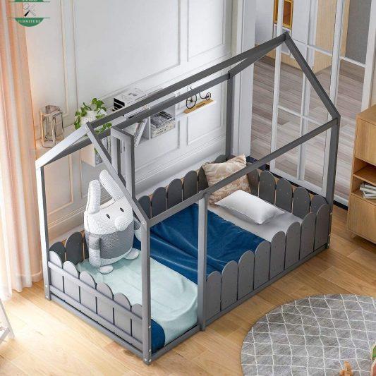 Tempat Tidur Bayi Dari Kayu Minimalis