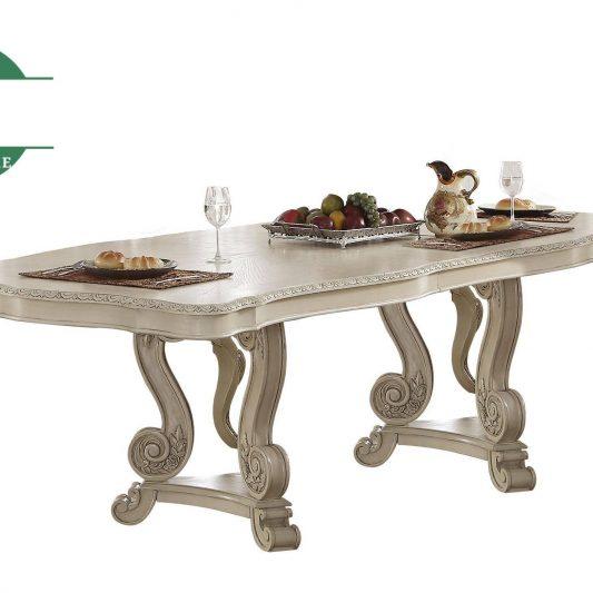 Meja Makan Mewah Kayu Jepara Ukiran Klasik